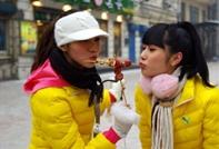 新面孔选手造访中央大街