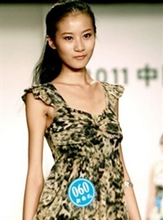 22号选手 王艳琳 --中国模特新面孔选拔大赛